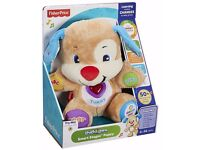 Brand New In Sealed Box Fisher-Price Baby Favorite Laugh and Learn Puppy (Pet & Smoke free home)