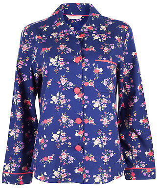 CYBERJAMMIES Jasmine Brushed Floral Print Pyjama Top, 0388, SALE, VARIOUS SIZES