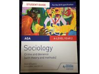 A level sociology AQA crime & deviance with theory and methods