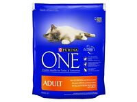 Purina ONE Adult Chicken & Whole Grains Dry Cat Food 800g