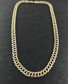 9ct Curb Chain heavy 2oz 63.6g