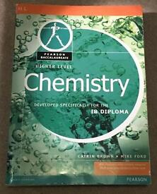 IB (International Baccalaureate) Chemistry Higher Level (HL) textbook
