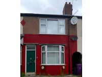 Liverpool- three bedroom terrace freshly decorated and new carpets ref AG32HR