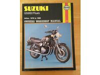 Suzuki GS850 Fours Haynes Manual