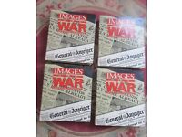 IMAGES OF WAR - COMPLETE SET OF 52 MAGAZINES - NEW - with BINDERS