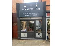 Renovated shop/office to let in affluent catchment area of Bournville