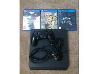 Sony PlayStation 4 500GB + FIFA 17 Bundle Jet Black Console