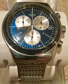 Swatch Wales Irony Watch