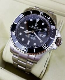 New Unworn Rolex Submariner 114060 Stainless Steel Mens Watch Swiss Automatic