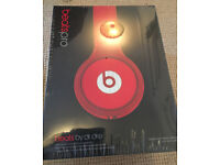 Beats by Dre Pro Headphones in Red - Unopened