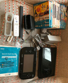 Wii U bundle - console and 12 games