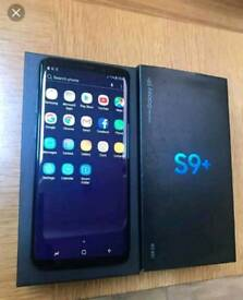 Samsung galaxy s9 plus boxed/unlocked with reciept