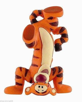 Tigger im Kopfstand Figur Disney Winnie Pooh Sammelfigur Bullyland 12321