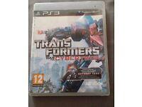 Transformers: War for Cybertron Sony PlayStation 3