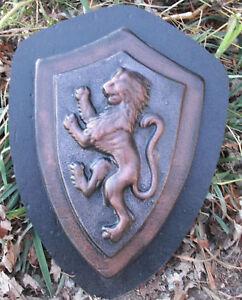 Lion wall plaque medallion mold concrete mold plaster mould
