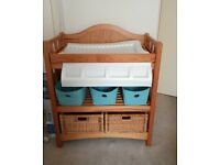 Baby changing unit and bath- mamas and papas pre owned