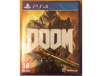 Doom PS4 New - SEALED