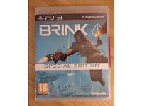 PS3 - Brink - Special Edition *Excellent Condition*