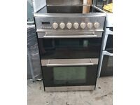 6 MONTHS WARRANTY Prestige Stainless Seel, 60cm, double oven electric cooker FREE DELIVERYt