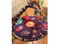 Lamaze musical motion play gym battery operated