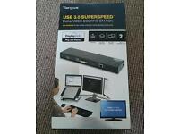 TARGUS USB 3.0 SUPERSPEED DUAL DOCKING STATION