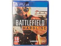 SONY PLAYSTATION 4 PS4 BATTLEFIELD HARDLINE GAME