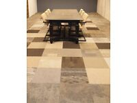 *MID SEASON SALE* Shades of Brown Carpet Tiles from Interface. Very decorative!!