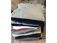 MEN'S EXTRA LARGE JUMPERS (17 IN TOTAL) NEW LOOK, NEXT, GEORGE