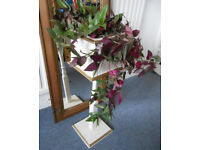 Painted Wooden Plant Stand