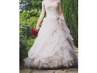 Ian Stuart Antoinette Gold Wedding Dress Size 8-10