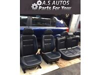 VAUXHALL ASTRA - H - COMPLETE FULL LEATHER SEATS