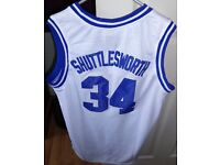 NOW REDUCED, BRAND NEW 'HE GOT GAME, SHUTTLESWORTH 34' BASKETBALL JERSEY