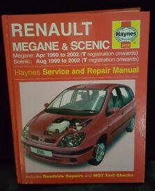 Renault Megane/ Scenic Haynes Manual 3916
