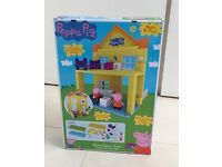 Peppa Pig Deluxe Peppa's House Construction set **** BRAND NEW/BOXED/UNOPENED***