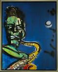 Herman Brood | Giclée: Sax | Afmeting: 100cm x 125cm