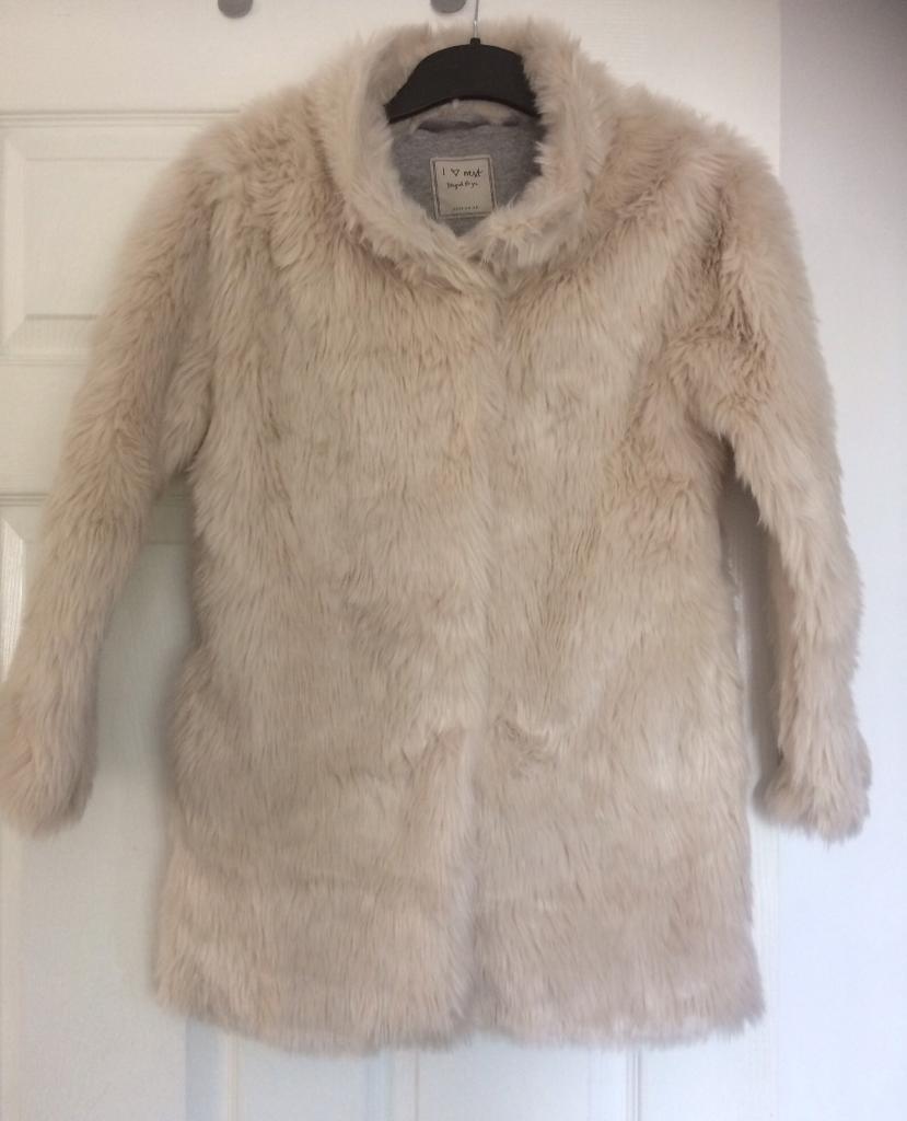 Next fur coat brand new