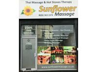 Sunflower Thai Massage and Hot Stones Therapy