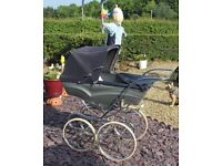 Silver Cross Coach Built Pram 1960's - early70's