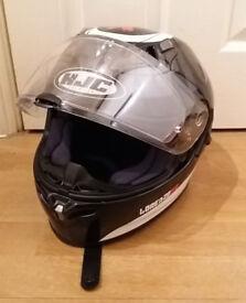HJC FG-ST Lorenzo Devil 99 Motorcycle Helmet (Small)