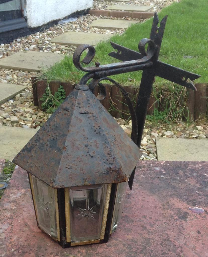 Decorative Metal & Glass Lamp Shade
