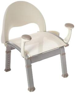 NEW Moen DN7100 Home Care Shower Chair, Glacier