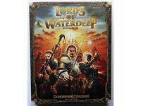 ** NEW/UNOPENED ** D&D: LORDS OF WATERDEEP Board Game. Dungeons & Dragons.