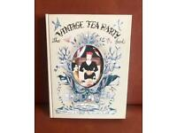 The vintage tea party book by Angel Adoree (Hardback) Brand New RRP £20
