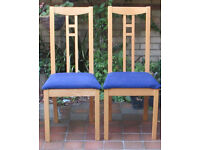 Two Ikea Dining Chairs, Unused in Boxes