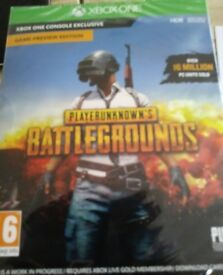 New sealed xbox one unknowns battlegrounds game.