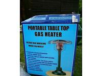 Portable table top heater