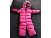 Girls Ralph Lauren Snow Suit, Age 2-3