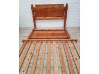 Solid Pine Bed Frame (DELIVERY AVAILABLE FOR THIS ITEM OF FURNITURE)
