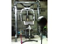 Marcy diamond elite smithmachine with weights excellent condition