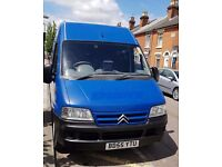 Citroen Relay 1500 TD HDI LWB High Roof Top Diesel - Partial Internal Racking (removable)